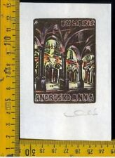 Ex Libris Originale Karoly Andrusko Jugoslavia  b 353 Andrusko Anna