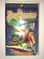 The Pagemaster - Family Feature (VHS, 1995, Clamshell) Very Good Condition