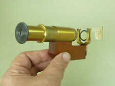 Hand-Held Slide Magnifier Pocket Microscope Boxed