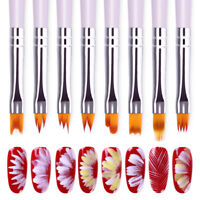Nail Art Acrylic Gradient Painting Brush UV Gel Drawing Pen  Design Tool