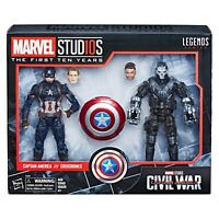 MARVEL Studios The First 10 Year Civil War CAPTAIN AMERICA & Crossbones Collect