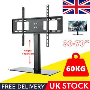 "Universal TV Stand Table Top Mount Bracket For 30""-65"" Vizio Samsung Toshiba"