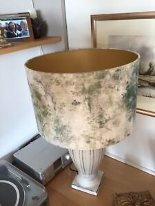 Large Gold Lined Lampshade