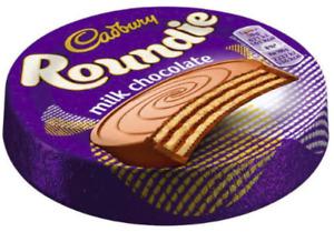 Cadbury Roundie Biscuits Milk Chocolate 30 X 30g Best Before 16/06/2021