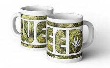 Weed Kaffee Tasse Fun Cup Weed DOPE Gras Kush Hanf Kiffen Marijuana Becher