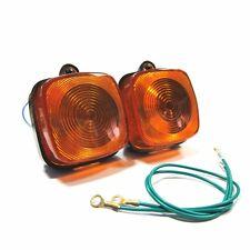 PAIR Front Turn Signal Lights For Honda Passport C70 Express II NA50  Indicators