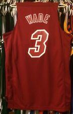 Dwyane Wade Miami Heat NBA Jersey Men S Nwt Hwc X-MAS Christmas Adidas LeBron #3