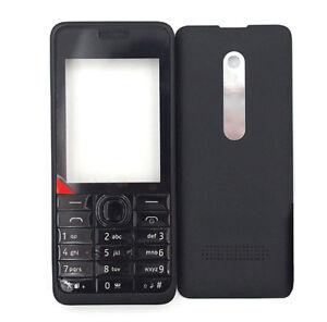 Classia Housing cover bezel case keypad for Nokia Asha 301 N301 Single SIM