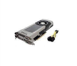 ZOTAC NVIDIA GeForce Titan Black 6GB PCIe GPU GTX TITAN ZT-70802-10B w/ Cable
