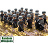 21x WW2 Army US Soldiers Mini Figures (LEGO Compatible)