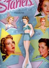 Vintage Uncut 1951 Starlets Paper Dolls~#1 Reproduction~Nostalgic Rare Set!
