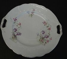 """Style Art déco-gâteau Assiette """"KPF"""", fleurs, d-26, 5 CM (249/1113)"""