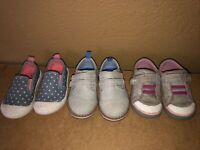 Lot  of 4 Toddler Boys Girls Leather Shoes Rain Boots Sneakers Cat&Jack  SIZE 5