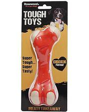 Tough Toys, Meaty Chicken Flavour Bone, Dog Toy, Premium Service, Fast Dispatch.