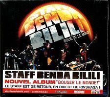 STAFF BENDA BILILI - BOUGER LE MONDE - CD ALBUM NEUF ET SOUS CELLO