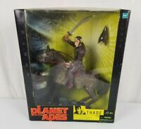 Planet of the Apes Thade with Battle Steed Action Figure - Hasbro, 2001