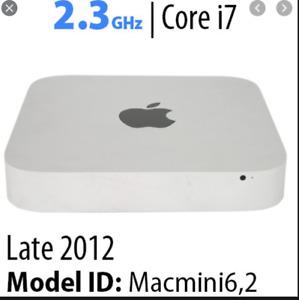 Apple Mac Mini 2012 2.3GHz i7 Quad Core 16GB RAM 512GB SSD Upgraded Warranty