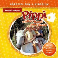 PIPPI LANGSTRUMPF - PIPPI AUßER RAND UND BAND (HÖRSPIEL ZUM 4.KINOFILM)  CD NEU