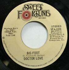 Soul 45 Doctor Love - Big Foot / Ocho Rios On Sweet Fortune Records
