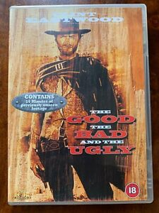 the Good the Bad and the Ugly DVD 1966 Spaghetti Western Movie Classic