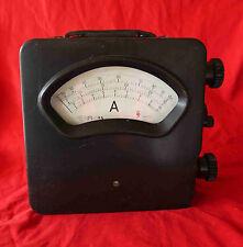 Bel et imposant ampèremètre industriel années 50's 60's «HS 648194»