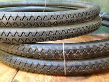 "1 Pair 24"" Gillette Ambassador tubular tires  NOS"