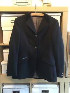 Turnierjacket blau-schwarz und Turnierbluse Pikeur Gr. 38