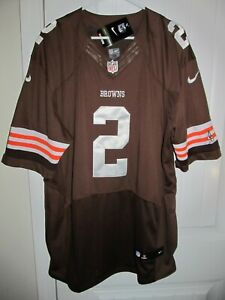 Johnny Manziel - Cleveland Browns Nike Elite Authentic On-Field Jersey 56 NWT