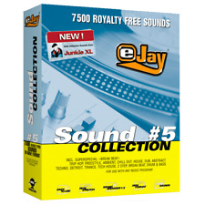 🥇 eJay Sound Collection 5, 7500 sounds of HQ, samples and Loop DAW Create Music