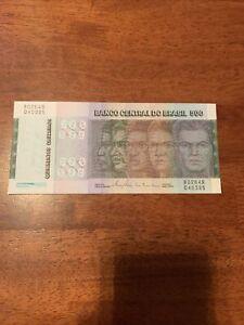 BRASIL BANKNOTE 500 Cruzeiros 1972 P#196a VF+