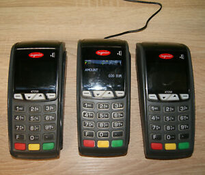 Lot of 3 x Ingenico iCT250 without contactless. With original power supplys.