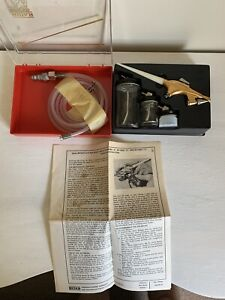 Binks Wren 59-10006 Set #2 Type B Wren Air Brush With Box And Instructions