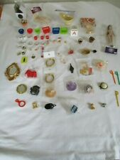 doll house accessories NEW AND USED 70 ITEMS