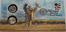 2005 P & D Westward Journey Nickel Series Bison Official Commemorative Cover
