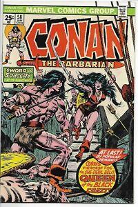 Conan the Barbarian #58 1st Belit Marvel 1976 VF