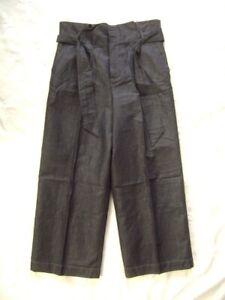 @ Massimo Dutti @ Hose cropped blau Size M Gr. 38 Ital. 42 jeansoptik klassisch