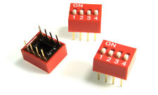 206-10 CTS DIP Switches / SIP Switches Slide Type Switch Module Pitch 4 (1 pcs)