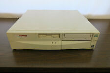 Vintage Compaq Presario 7222 Desktop Computer Original Intel Pentium I NO POWER