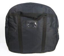 Black Heavy Duty Nylon Kit Police Body Armor Armour Stab Vest Carry Carrier Bag
