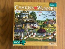 """Charles Wysocki Puzzle """"Love"""" 1000 Pieces Buffalo Games 27"""" x 20"""" Poster"""