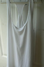 SOFFE T-BACK ATHLETIC TOP-Wns LARGE-WHITE-RUNNING-CYCLING-YOGA-SUPERB CND