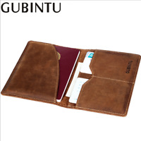 Leisure Leather Passport Travel Holder Wallet ID Cards Case Cover Organizer New