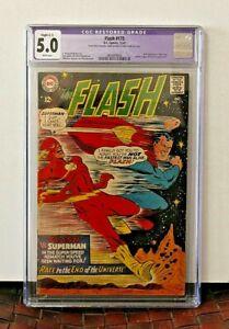 THE FLASH #175 CGC 5.0  2ND FLASH/SUPERMAN RACE