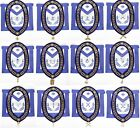 Masonic Aprons & Regalia 100% Real Leather Blue Lodge Chain Collar With Jewels