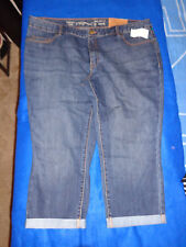 women's capri pants NWT natural fit, cropped leg size 18  Coldwater Creek
