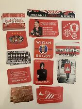 Wigan Warriors Rugby League Stickers X 52
