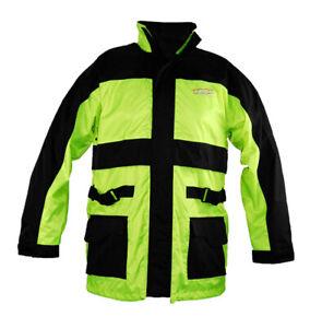 Vega Motorcycle Rain Jacket Hi-Vis Men's