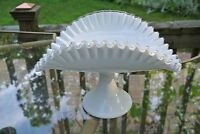 Fenton Silvercrest Footed  Banana Stand / Dish / Bowl Cake Stand