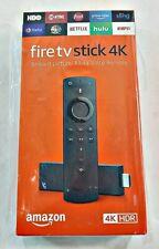 Amazon Fire TV Stick 4K W/ Alexa Remote FIRESTICK NIB SHIPPING TO USA & UK