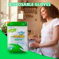 Disposable Gloves 100 PCS PE Removable Food Grade Plastic Thick Gloves UK